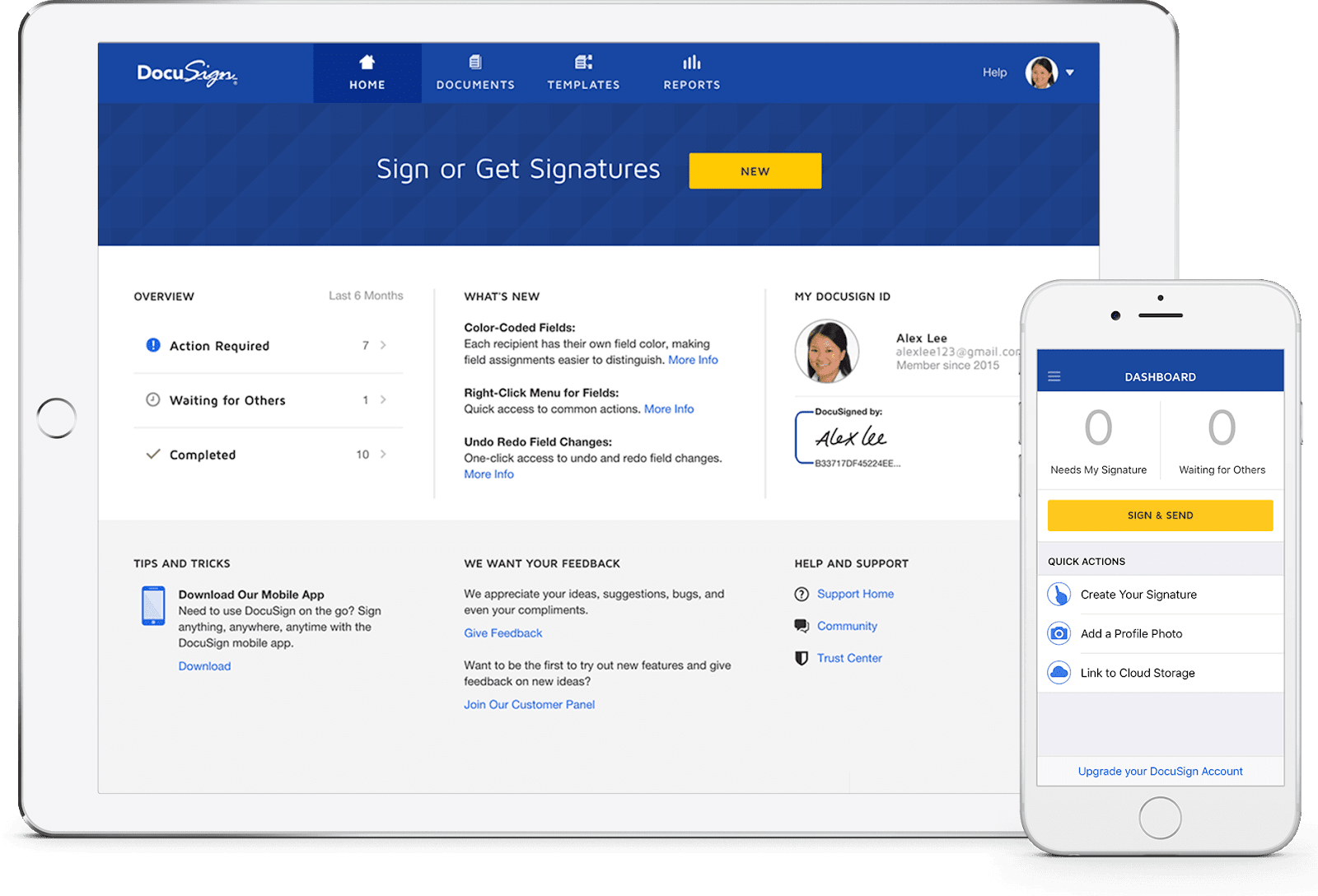Best Small Business Apps - DocuSign.