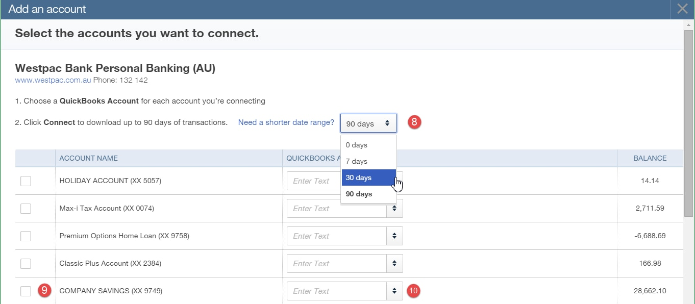 Connecting To A Bank Account | QuickBooks Australia