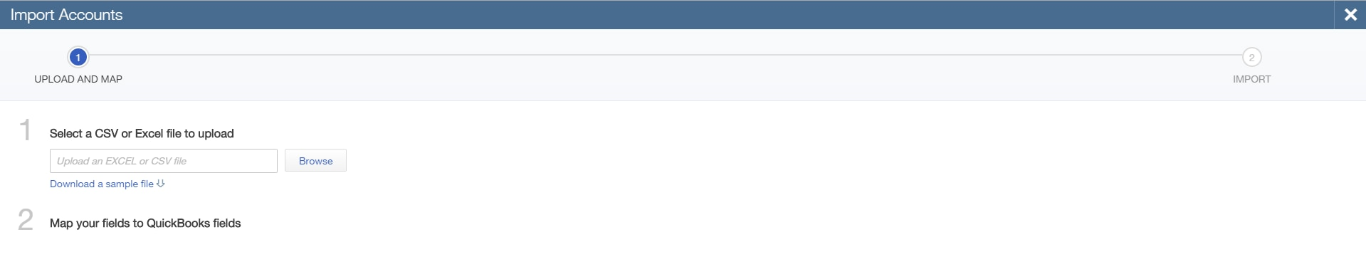 9. Import Accounts