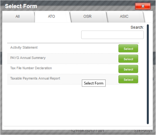 GovReports retrieve forms