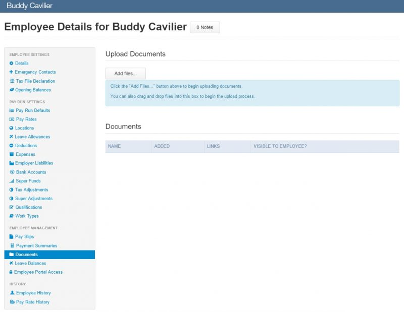 employee details buddy cavilier
