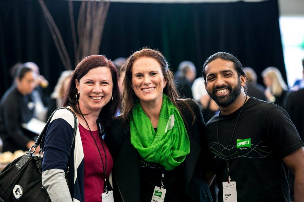 intuit staff at quickbooks connect sydney