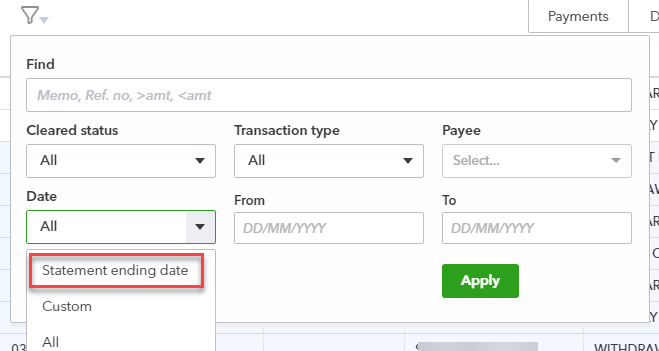 new bank reconciliation look and feel quickbooks australia