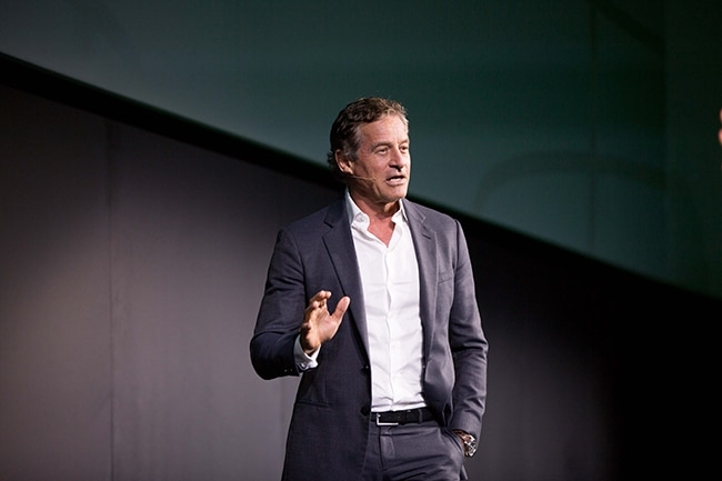 Mark Bouris on stage at QuickBooks Connect Sydney