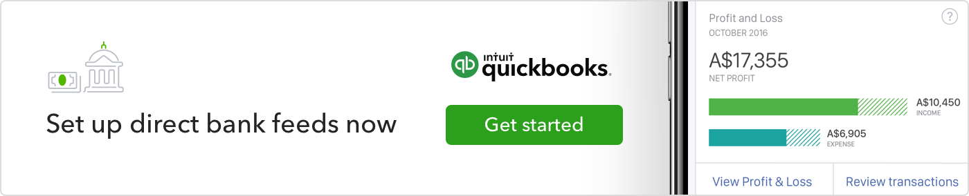 Quickbooks bank feeds