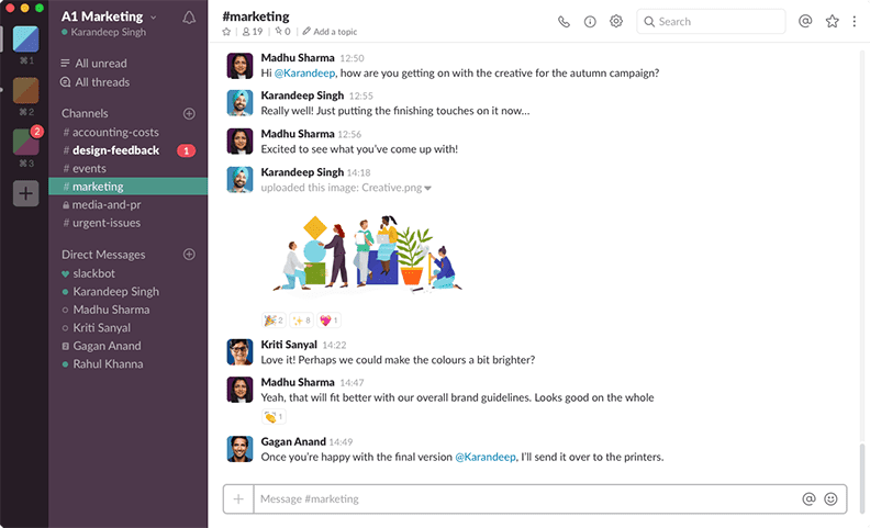 Best business apps, Slack.