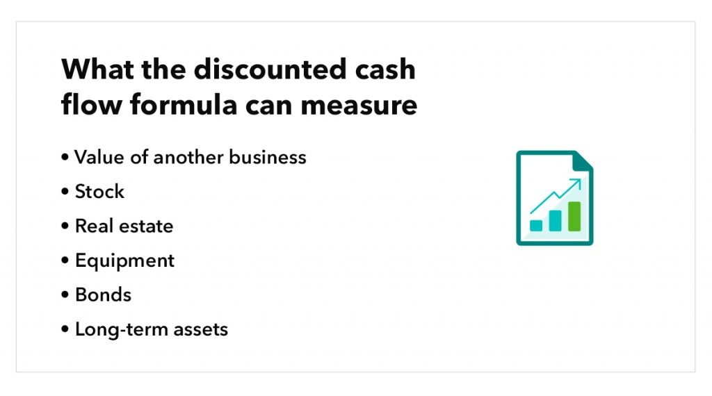 what the discounted cash flow formula can measure