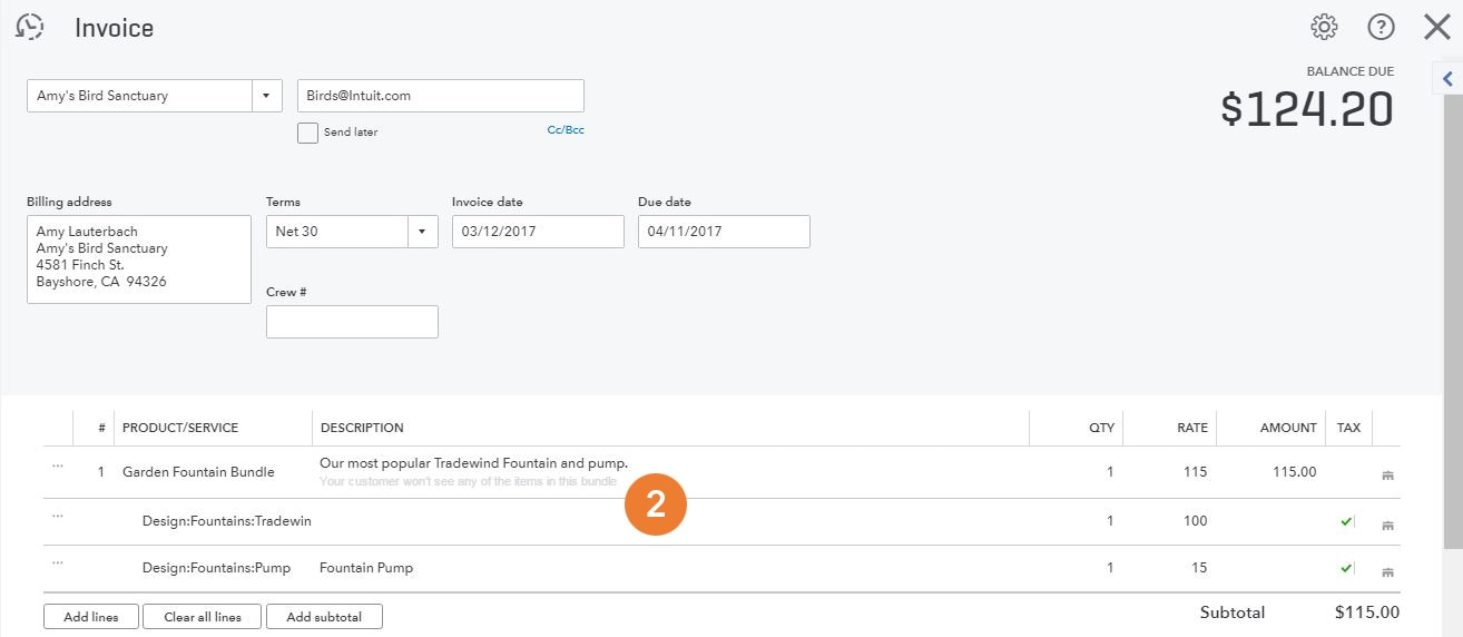 Introducing Quickbooks Bundles And Reorder Points Quickbooks