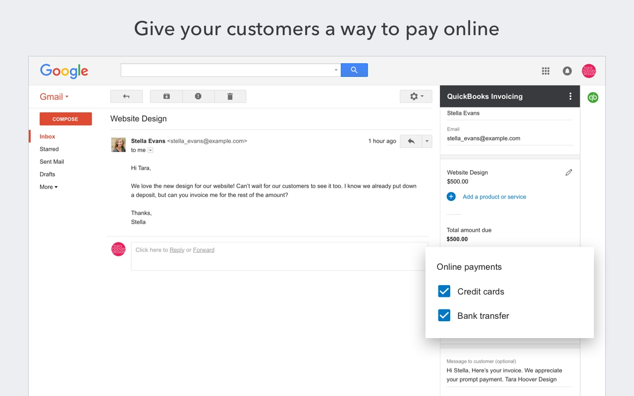 Combine the Power of QuickBooks With the Ease of Gmail