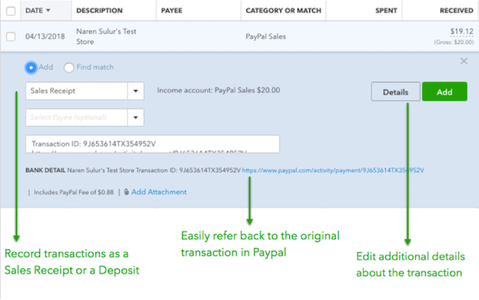 Upgrade your PayPal connection with Connect to PayPal - QuickBooks