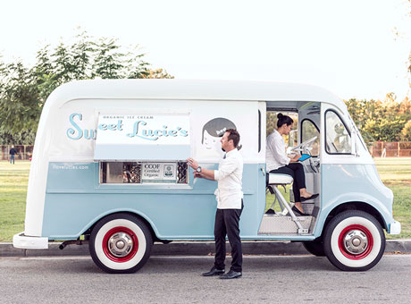 Dairy free ice cream truck opens for business after a successful Kickstarter campaign