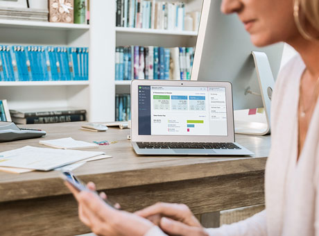 Entrepreneur looks up her industry's beta to prepare for a meeting with investors
