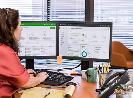 Accountant prepares the payroll for her Ontario based company