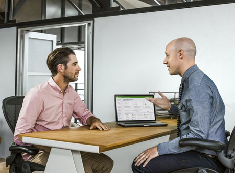 Employer explains his expectations to a new employee