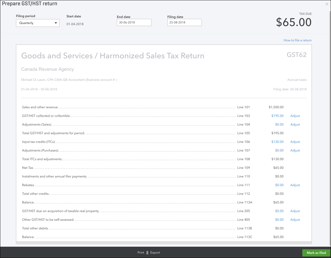 How To Fill Out Sales Tax Return in QuickBooks Online