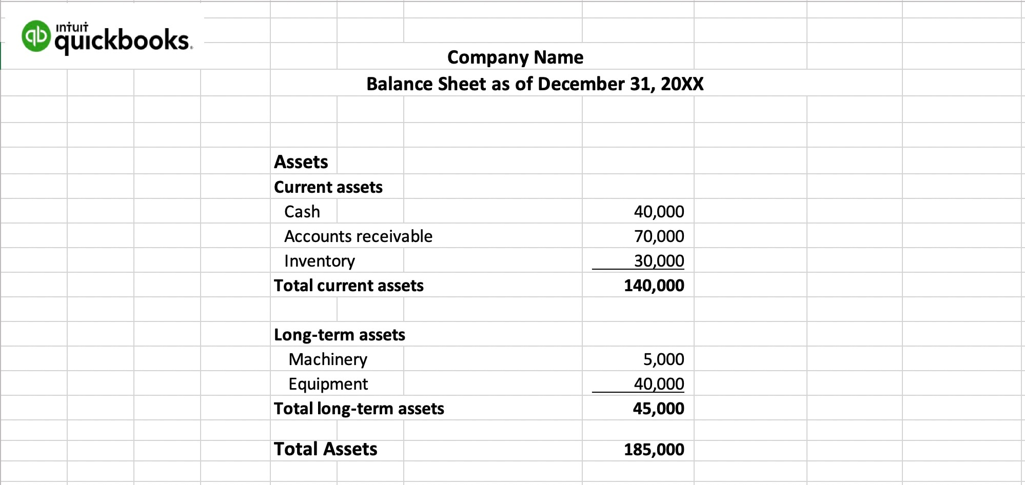 A Guide To Balance Sheets With Template Quickbooks Canada
