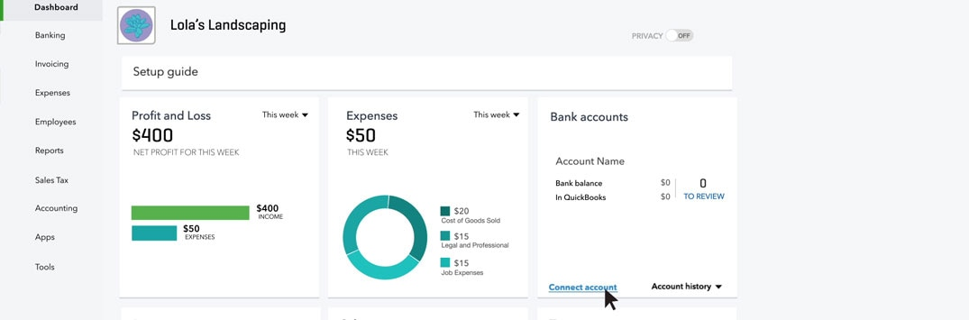 Connecting Your Bank Accounts to QuickBooks - QuickBooks