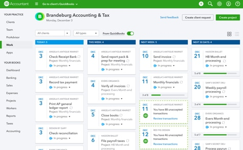Quickbooks Online accountant desktop