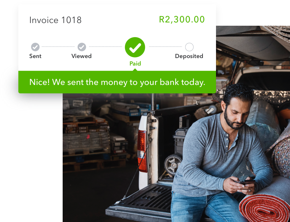 Get bucks in the bank, faster.No need to chase payments with QuickBooks Online invoicing. Create and send customised invoices that show off what your business can do. Know once they've been viewed and paid online.