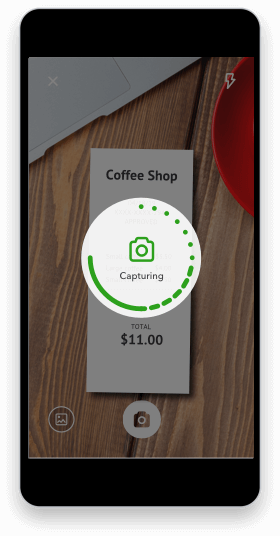 Self-Employed expenses receipt scanner