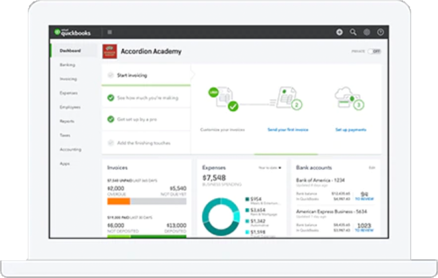 Quickbooks For Small Business Simple Accounting Software