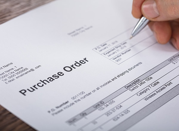 Why use purchase orders?