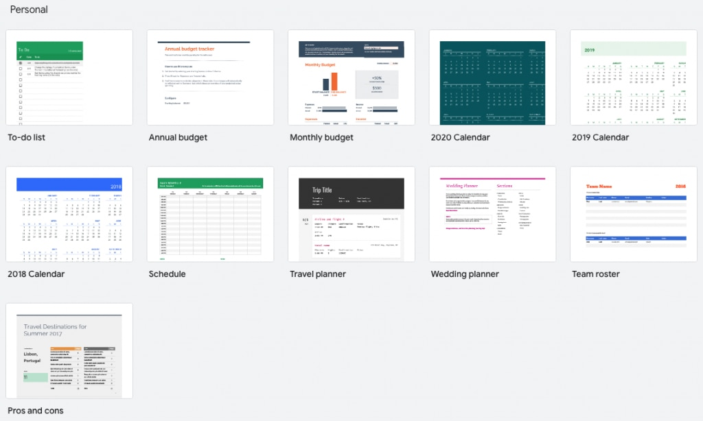 Best Small Business App - Google Sheets.