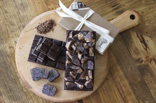 An assortment of Steve's handmade chocolates. (Source: Antonelli's Cheese Shop)