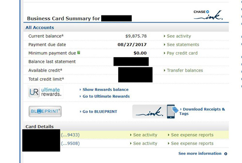 Solved split transfer for chase credit card quickbooks community malvernweather Gallery