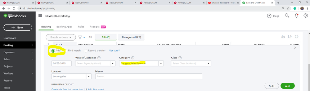 switching-from-recordtransfer-to-add-radiobutton.PNG