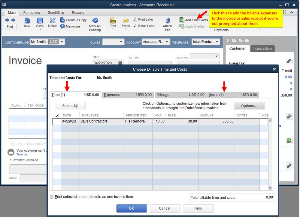 Add time and cost to invoices or sales receipts.PNG