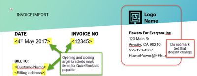 Solved Importing Custom Invoice Templates Into QuickBooks Online - Quickbooks invoice example