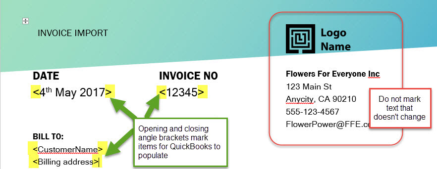 Solved Importing Custom Invoice Templates Into Quickbooks Online