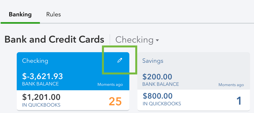 Solved Connecting Citibank Credit Card To Qb S Online