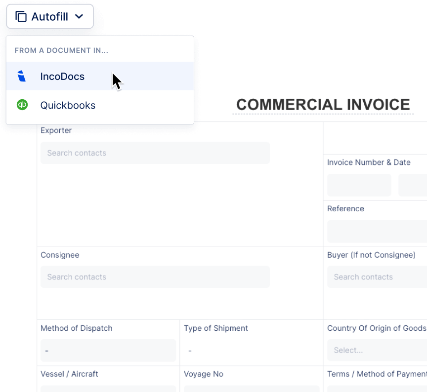 I Need To Create Commercial Invoices On Qb How Do I Find A Commercial Invoice Template