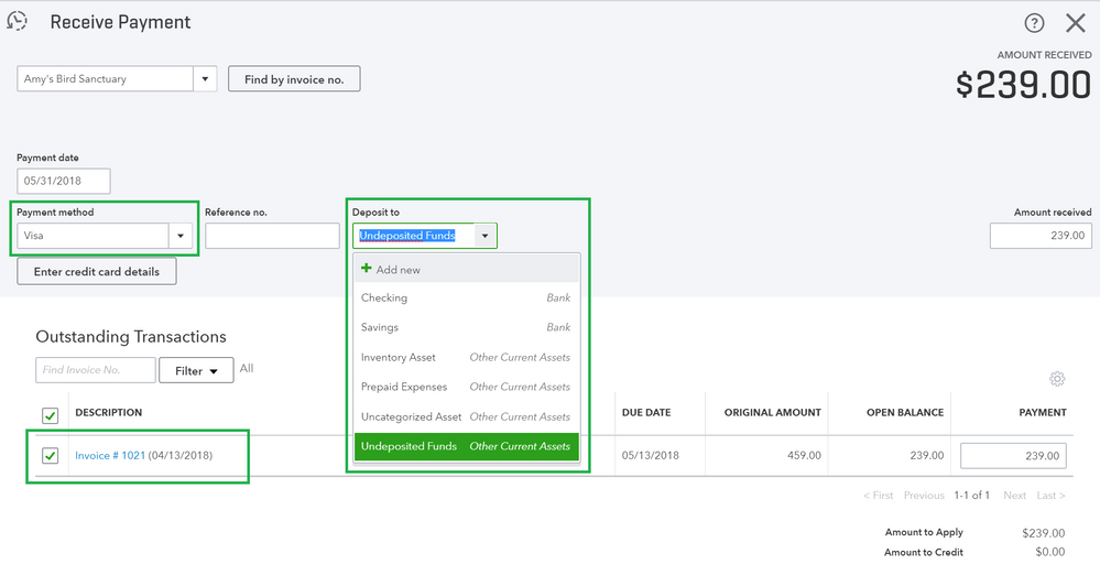How to use the Undeposited Funds Account in QuickBooks Online 3.png