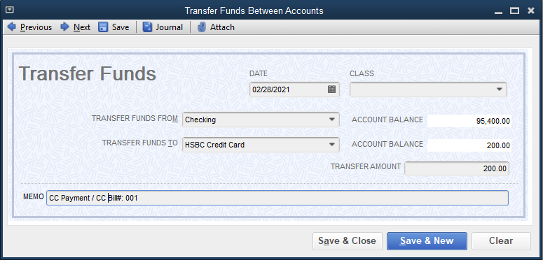 option 1- pay the credit card via transfer.PNG