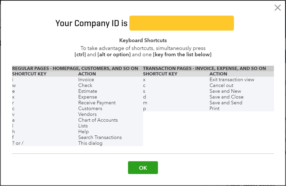 Setting up for success in QuickBooks Online - Hot Key 1.PNG