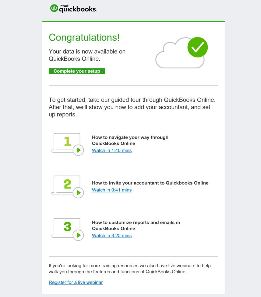 QuickBooks Desktop Conversion - Congratulations, finished!.PNG