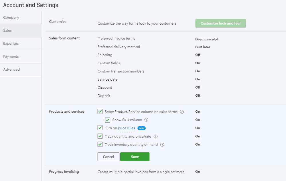 Pricing rules opens up the Customer Type feature