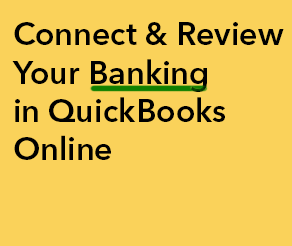 Connect and Review Banking QBO.png