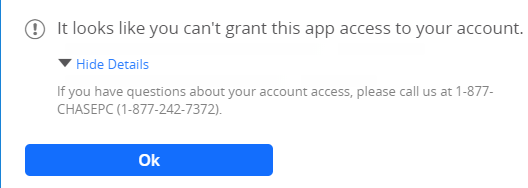 Cant grant app access-Chase.PNG