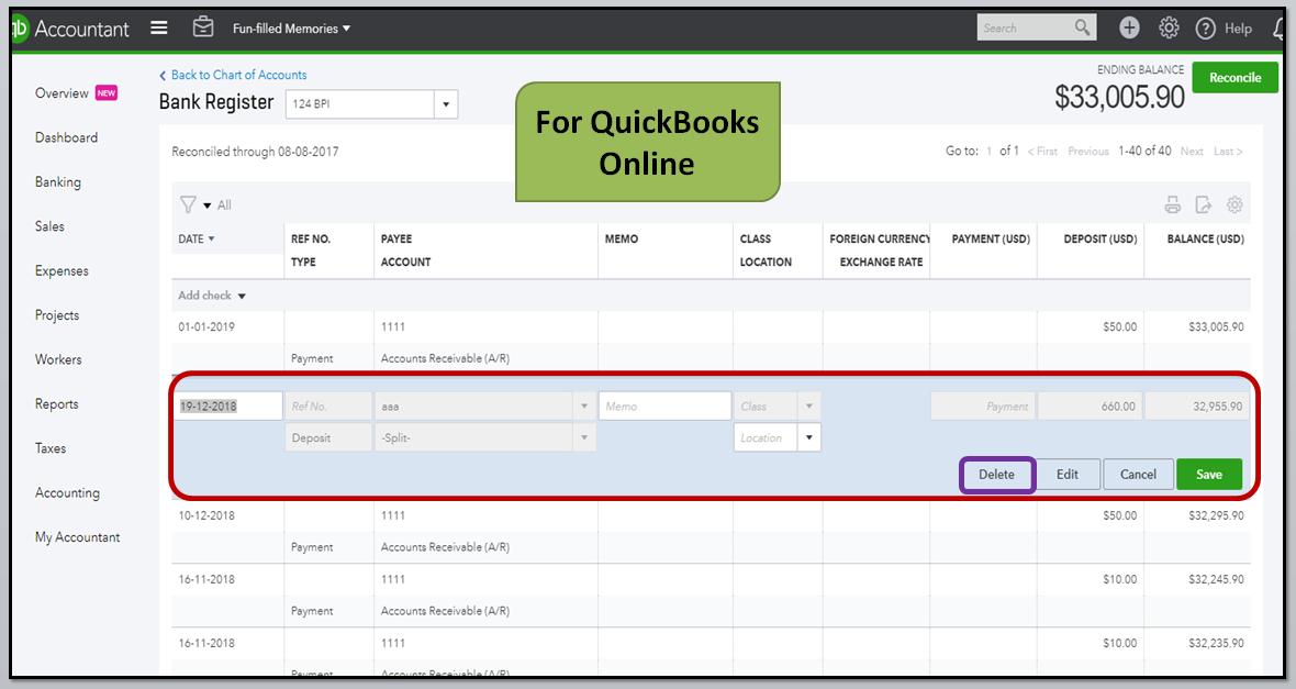 how to uninstall quickbooks pro 2017