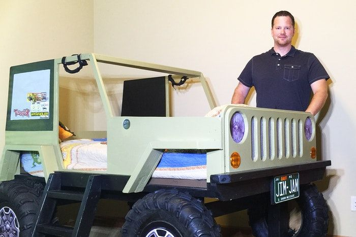 John Forck Built A Jeep Bed Everyone Loved And It Revved Up His