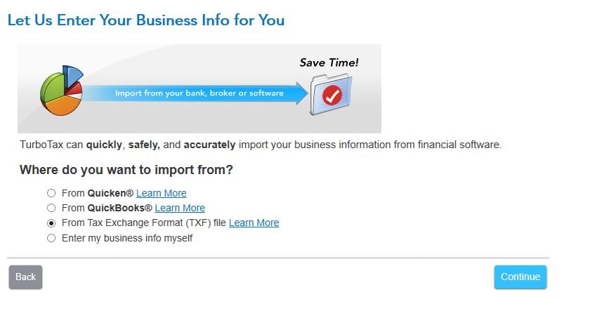 Image result for How do I import QuickBooks data into TurboTax Business images