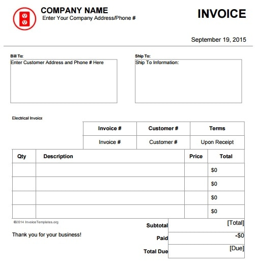 How Do I Get Invoices To Have Grids Or Alternating