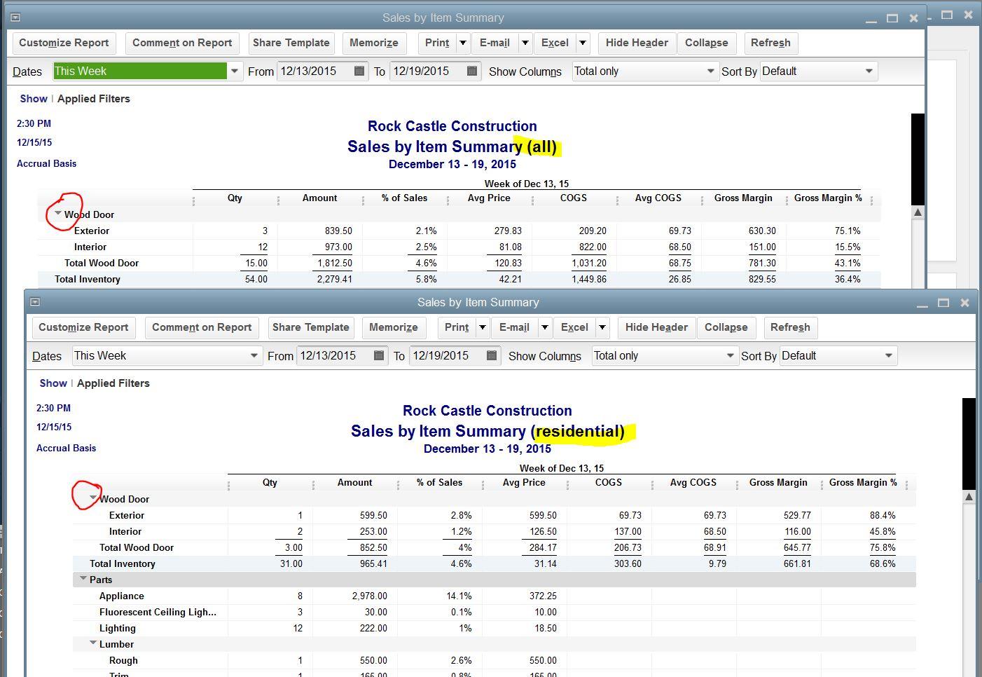 customer payment report in quickbooks