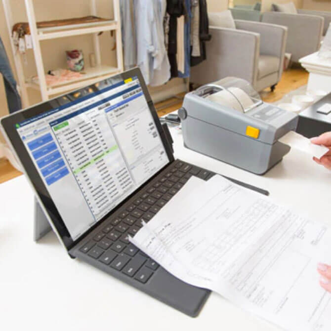 POS systems integrate with QuickBooks