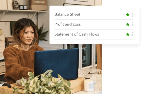Quickly generate your cash flow statement