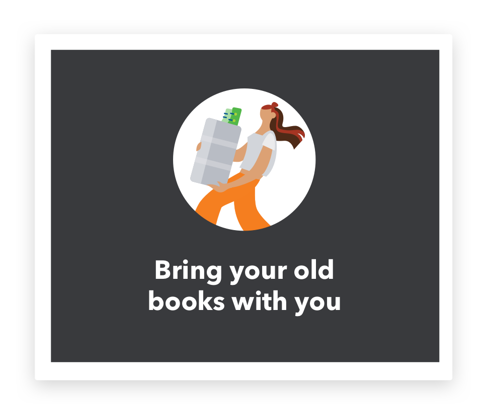 import your old data to your QuickBooks accounts